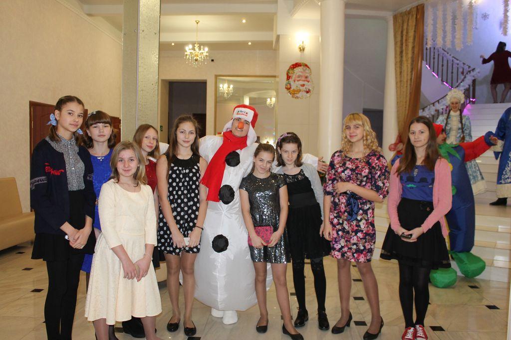 Поездка на Новогоднюю ёлку главы Новосибирского района