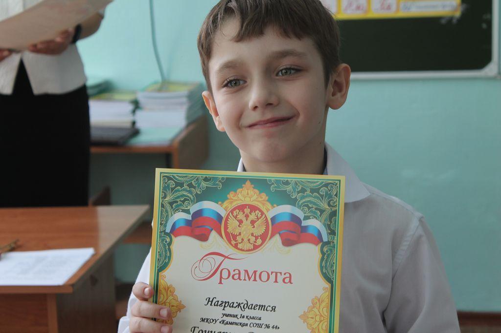 КОнкурс чтецов в начальной школе