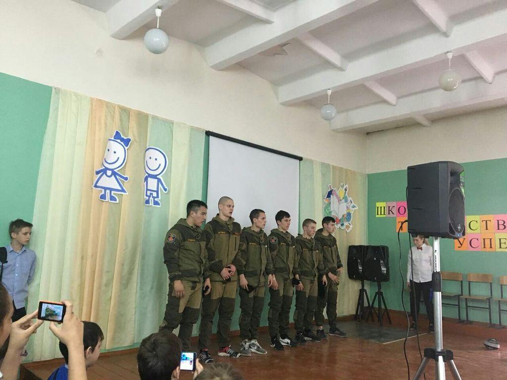 Новосибирский кооперативный техникум Новосибирского облпотребсоюза в нашей школе