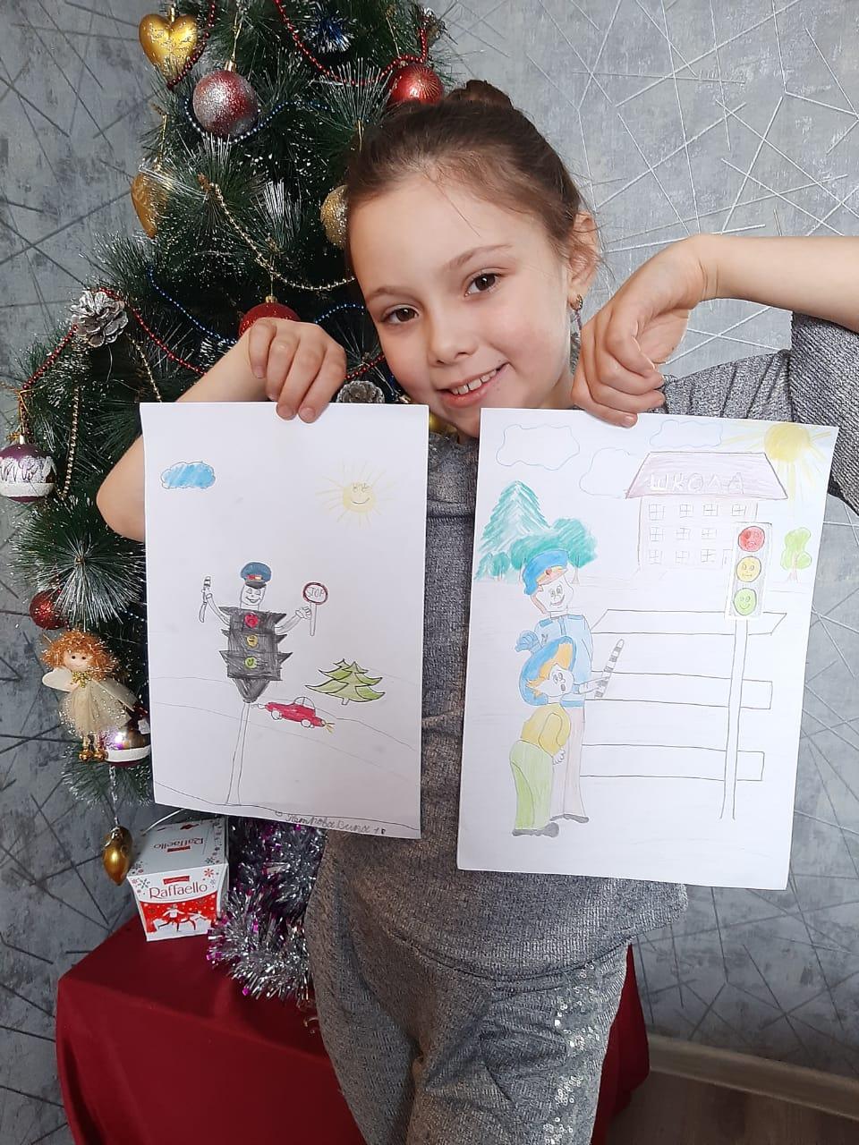 Акция Дети и родители рисуют ПДД