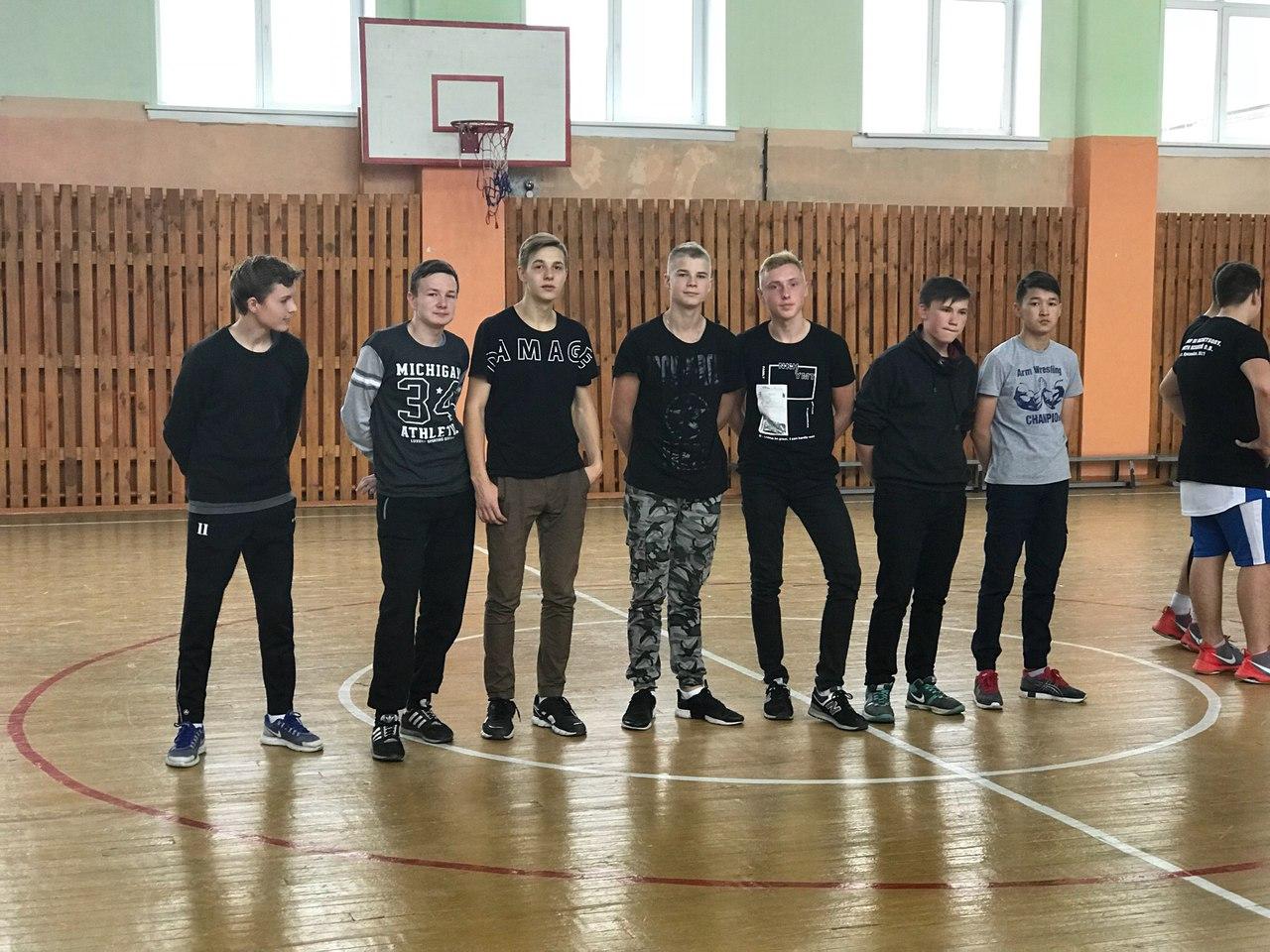 Соревнования по баскетболу 30.09.2017